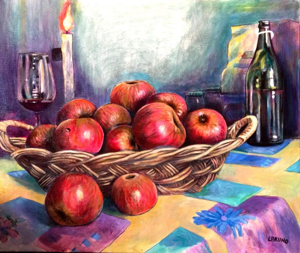MelArtè : la mela come spunto di emozioni artistiche