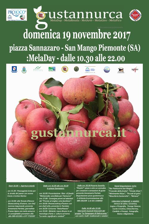 MelaDay a San Mango Piemonte, festa di saperi e sapori all'annurca organizzata dalla Pro Loco.
